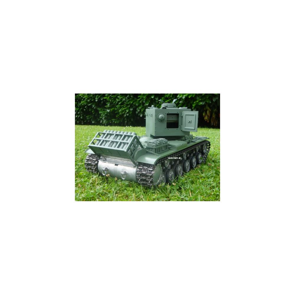 ... BB SHOOT UNIT » KV-2 with metal hull+BB shoot unit + + Smoke/Sound