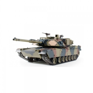 2.4 GHz U.S. M1A2 Abrams Tarn painting 1:16 smoke and...