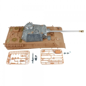 Panther G hull + metal turret and gun + Taigen recoil...
