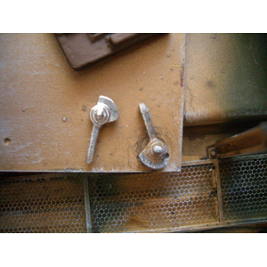 Metal hatch locking bar in 1/16, unpainted