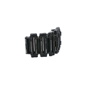 Sherman T49 - HQ metal tracks links, black, 5 pcs