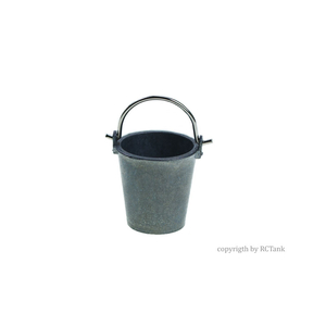 Bucket, made of metal, 1/16