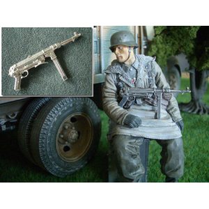 MP 40 aus Metall in 1/16, unlackiert
