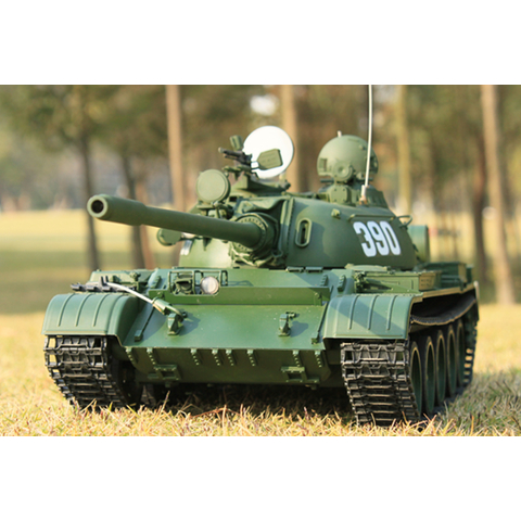 Hooben T-55 - Kit in 1:16 with parts of metal, without electronic