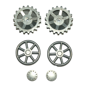 Panzer IV - Drive sprockets and idlers wheels, made of...