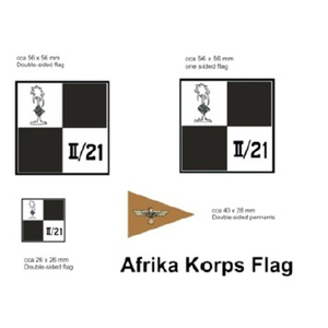 German Flag set for 1/16 Panzer