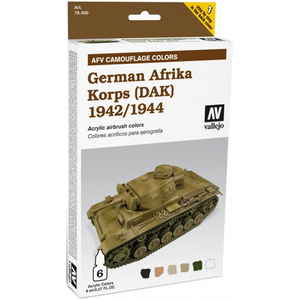 Vallejo  German Afrika Korps 1942/1944  Painting kit