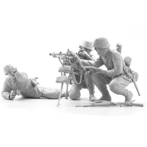 SOL - 1/16 MG 34  team with lafette (3 fig.)