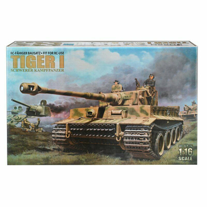 1/16 Tiger I early Version panzer kit