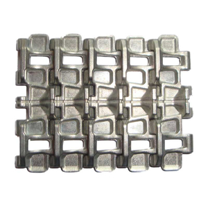 Tamiya JS-2 - spare track links, 5x in silver, for Tamiya...