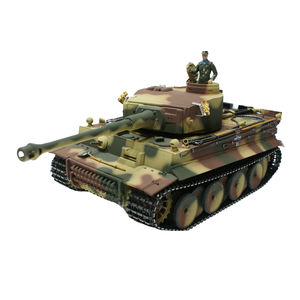 RCTank Tiger I, early version in the metal edition in...