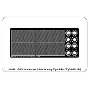 ABER - Tiger I early version, feifel air cleaners tubes