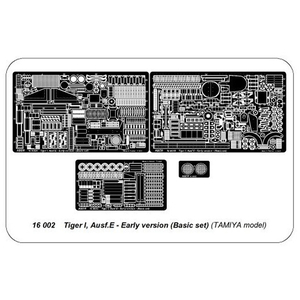 ABER - Tiger I early version Ausf. E, basic-set