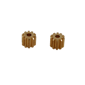 motor pinion with 10 teeth, set of 2, Heng Long/Taigen