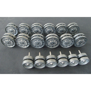 KV-1/KV-2 - road wheels with ball bearings and support...