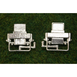 Metal optical square in 1/16, unpainted, suitable...