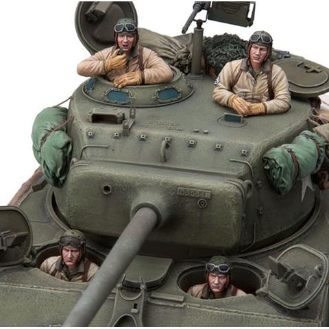 Sol 1 16 Us Sherman Tank Crew 4 Pcs 69 95