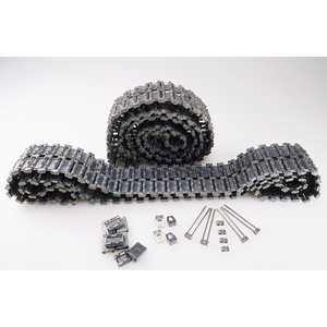 T-90 / T-72- HQ Metal tracks, silver
