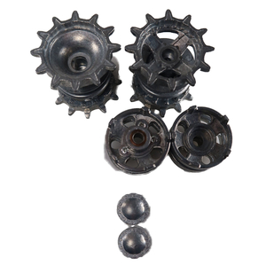 T-90 - HQ Metal sprocket and idler wheels with ball bearings