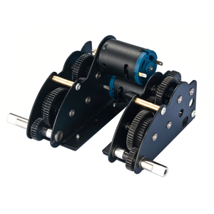 Leopard 2A6 - 4.1 PRO steel gearbox for the metal lower...
