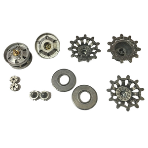 Challenger 2 - HQ sprockets and idler wheels with ball...