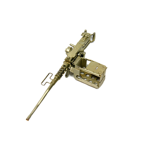 Browning-MG Cal. 50 aus Neusilber, HQ in 1:16