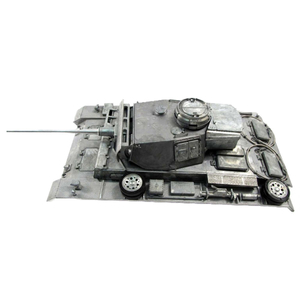 Panzer III - full metal upper hull with BB shooting unit
