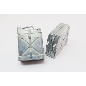 Jerry can, kit made of metal, 1:16