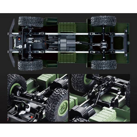 1/16 US RC Military Truck Green