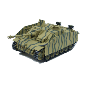 Taigen StuG III with aprons, version camouflage, metal...