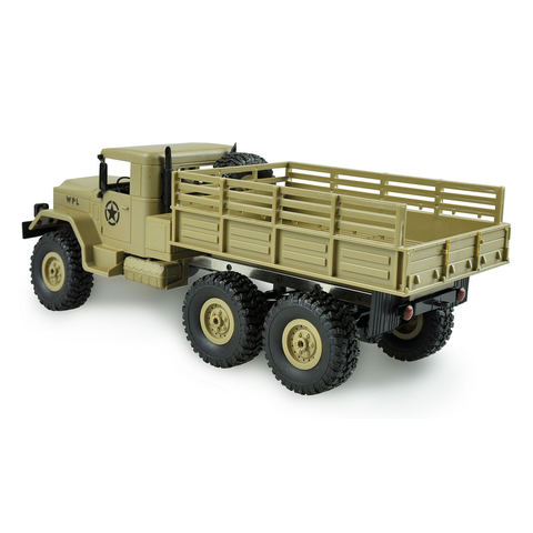 1/16 US RC Military Truck 6WD Sandfarbe RTR