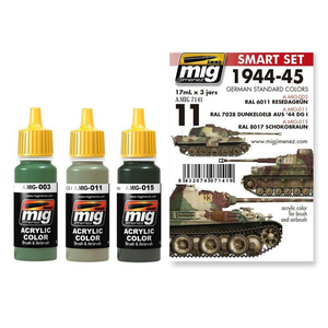 Painting kit German standard colors 1944-1945, content 51 ml