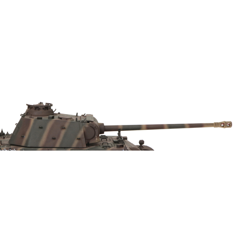 Panther G - new metal turret and gun + Taigen BB shoot unit + 360° turret system painted