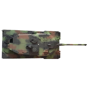 Leopard 2A6 - painted upper hull with metal turret, gun...