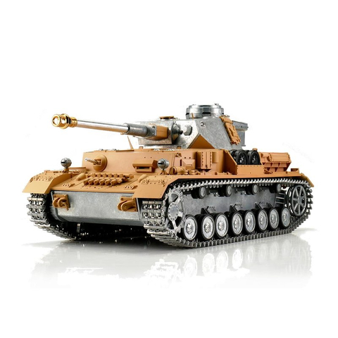 Metal Edition: 360° 2.4 GHz V3 (new board) PANZER IV F2/G + BB unit + metal hull/turret + HQ metal tracks/wheels