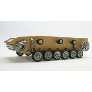 Panzer III/StuG III - metal lower hull, latest version...