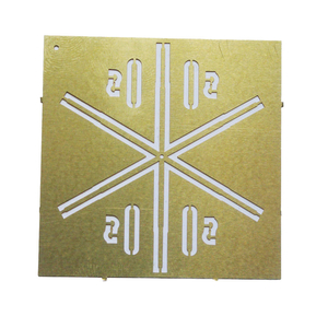 FuG 8 star antenna, etched part