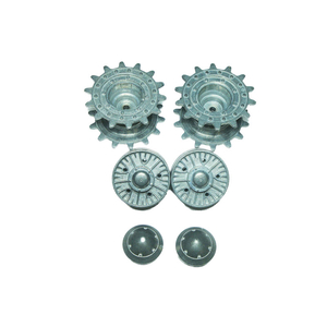 IS-2  - metal sprocket and Idler wheels with ball bearings