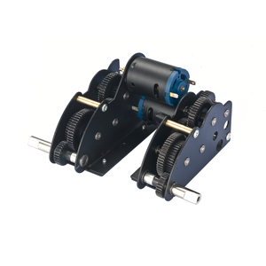 New IS-2  - 4.1 steel gearboxes with 390 motors