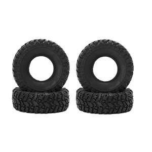 WPL - Truck tires, 4 pcs of rubber in 1/16