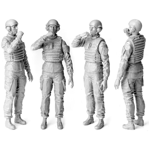 SOL 1/16 - UK tank commander, kit