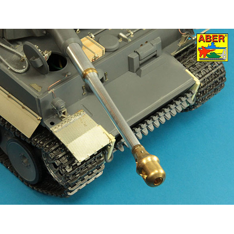 ABER - Tiger I, Ausf. E, front mud flaps, Tunesia, dept. 501