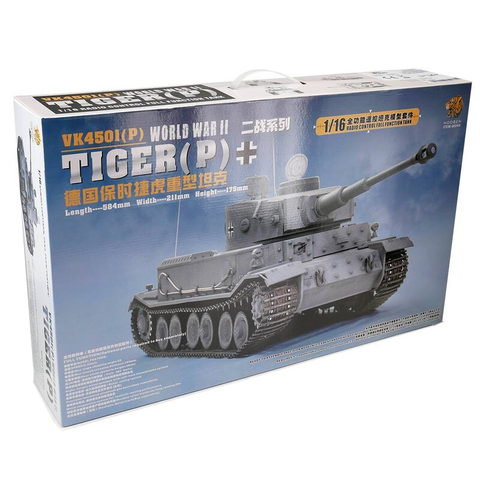 Tiger P - kit from Hooben in 1/16