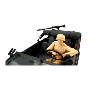 Crew for the VW swimming car (Schwimmwagen) in 1:16,...