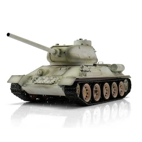 Taigen T-34/85, version winter metal edition 1:16 with BB unit and Taigen V3 board