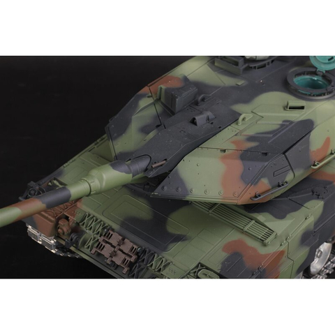 V6.0S LEOPARD 2A6  1:16 with BB shoot unit 6mm and IR system new version with wooden transport box