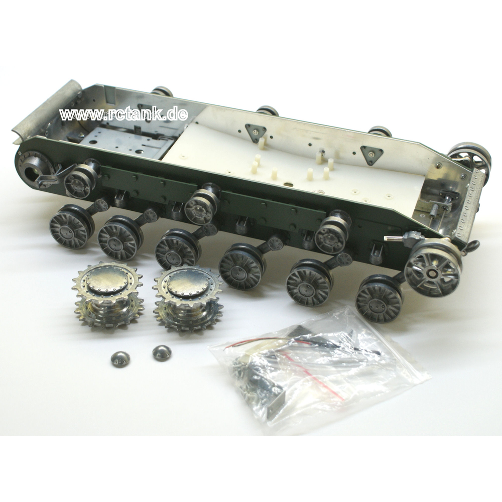 Kv 1 Metal Lower Hull With Metal Wheels Late Version
