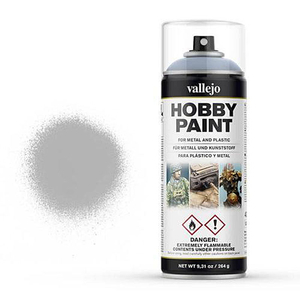 Vallejo - Primer grey, 400 ml spray can