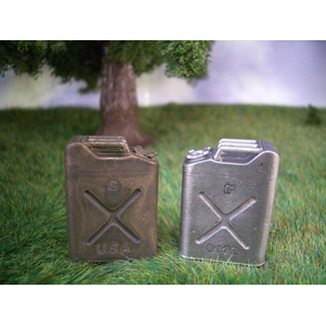 Metal US jerrycan 20 l in 1/16, unpainted