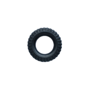 Tires made of rubber, small in 1/16